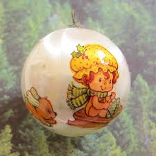 baby u0027s first christmas 1983 strawberry shortcake tree ornament