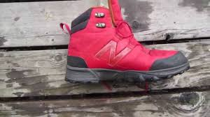 new balance mo1099 waterproof hiking boot review youtube