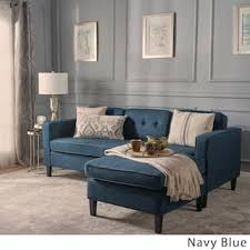 Blue Sectional Sofa With Chaise Blue Sectional Sofas For Less Overstock