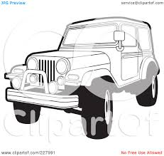 jeep mudding clipart clipart jeep outline clipground