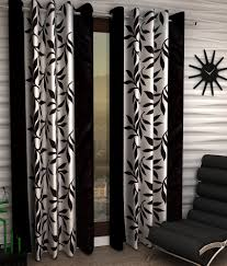 Curtains Floral Home Sizzler Set Of 2 Long Door Eyelet Curtains Floral Brown Buy