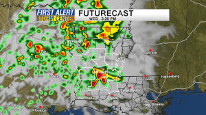 New Orleans Weather Map by Heavy Rain Severe Weather Possible Tomorrow What You Need To Know