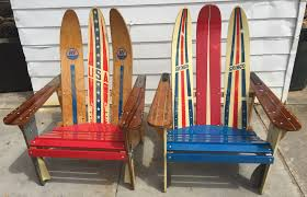 Outdoor Furniture Daytona Beach Florida Ski Daddle Recycled Waterski Chairs Patio Furniture Outdoor