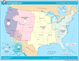 United States Map With Abbreviations by Maps Usa Map Time Zones