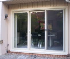 door amazing 3 panel sliding patio door with blinds images