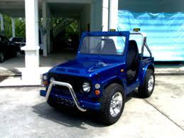 jimny jangkrik interior car picker blue suzuki lj