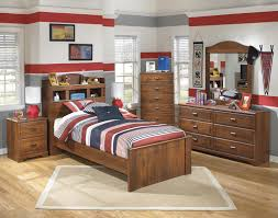 bookcase bedroom set signature design by ashley barchan twin bookcase bed with underbed