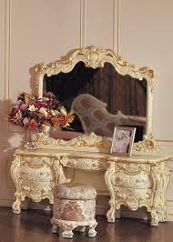 coiffeuse chambre mobilier baroque blanc coiffeuse de luxe chambre ensembles de