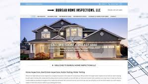 t hone bureau bureau home inspections llc website design u s a