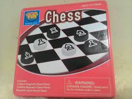 travel fun magnetic chess game for car u0026 traveling board kids