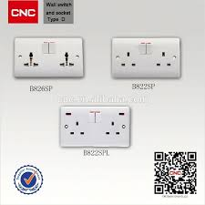 british type wall light switch electric socket making machine