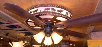 western ceiling fans with lights western ceiling fans popular canyon star wagon wheel fan regarding 0
