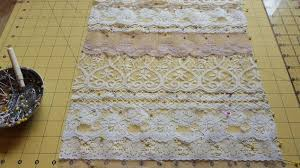 Table Runners For Dining Room Table Vintage Lace Table Runner Hometalk