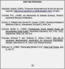 panduan penulisan daftar pustaka dari jurnal cara menulis daftar pustaka yang benar skripsi pai