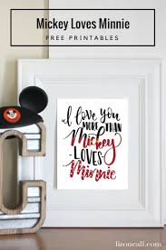 mickey loves minnie printable liz on call tell your disney loving sweetheart just how much you love them with this i love you