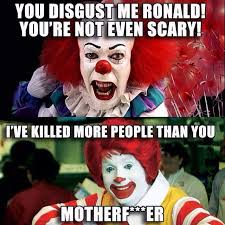 Stephen Meme - instagram meme pennywise the clown from stephen king s it and
