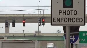 Orlando Traffic Maps by Tampa No Contract For Red Light Cameras After Months Of