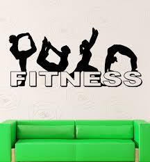 online get cheap sports stickers walls aliexpress com alibaba group 2016 new fitness wall stickers gymnastics sport yoga girls gym vinyl decal free shipping china