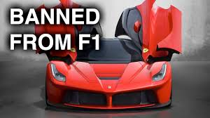 ferrari prototype f1 how ferrari u0027s banned f1 technology works on the laferrari engine