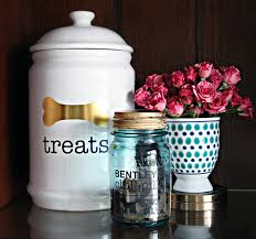 Decorative Dog Food Storage Container - iheart organizing five super simple ways we organize our pet supplies