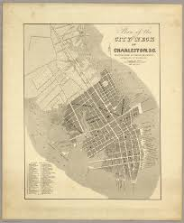Blank Sc Map by Charleston S C David Rumsey Historical Map Collection