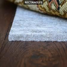 Area Rug Pad For Hardwood Floor Recycled Felt Rug Pad For Hardwood Floors Is Safe For All Floors