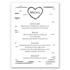 wedding menu cards wedding menu cards menu cards for weddings s bridal bargains