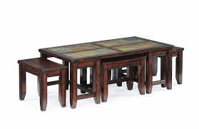 Coffee Table With Coffee Table With Stools Underneath Dans Design Magz