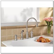 kitchen faucet soap dispenser placement sinks and faucets home