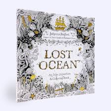 amazon com lost ocean an inky adventure and coloring book for