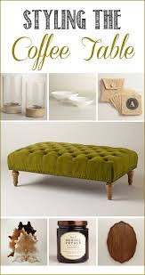 30 best ideas green ottoman coffee tables