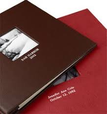 leather scrap book the great gift of a personalised leather scrapbook hartnack
