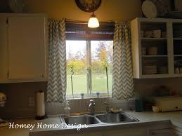 homey home design simple chevron curtains