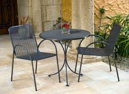 Modern Bistro Chairs Radius Modern Bistro Table Set In Black With 2 Chairs 28631 Ideas