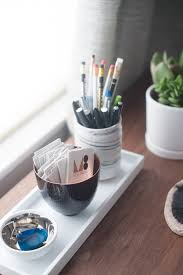 Office Desk Accessories Ideas Creative Idea Desk Accessories With White Pencils Stand And