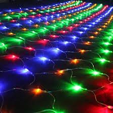 christmas net lights dizaul 2x3m 204 led net mesh fairy lights