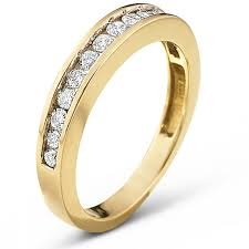 2 wedding bands 1 2 ct t w diamond 10k gold wedding band jcpenney