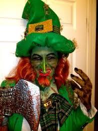 Leprechaun Halloween Costume Ideas Leprechaun Hat Beard Leprechaun Movie