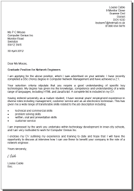 ideas collection sample cover letter university job application in