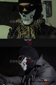 call of duty modern warfare 2 ghost skull face mask call of duty