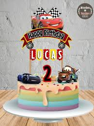 cars cake toppers cars cake topper cars birthday cars party custom cake topper