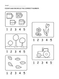 number 5 worksheets u2013 wallpapercraft