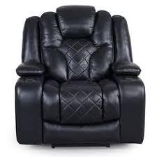 Jamestown Black Power Reclining Chair Recliners Discount - Furniture and mattress gallery