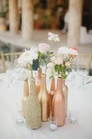 wine bottle wedding centerpieces 28 wine bottle centerpieces for every occasion shelterness