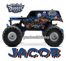 son uva grave digger monster truck personalized shirt son