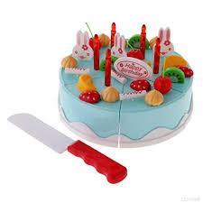jeux de cuisine de gateaux d anniversaire enfants jeux d imitation diy couper gâteau d anniversaire aliments