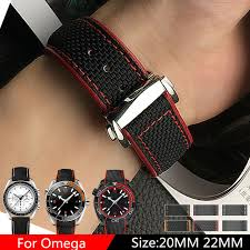 omega bracelet watches images Tjp luxury brands 20mm 22mm nylon leather watchbands watch strap jpg