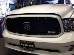 Dodge Ram Custom - status grill dodge custom truck accessories