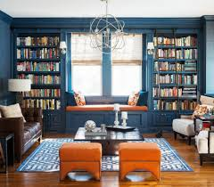 Orange And Blue Home Decor Living Room Beautiful Combinations Nice White And Blue Color