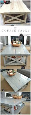 Diy Coffee Table Ideas Coffee Table Ideas Decorating Diy Rustic Glass For Small